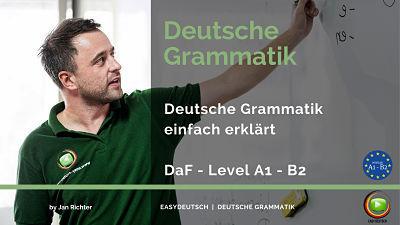 Deutsche Grammatik einfach erklärt